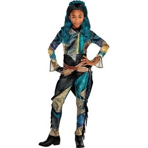 Disney Uma Descendants Deluxe Girl's Costume NWT